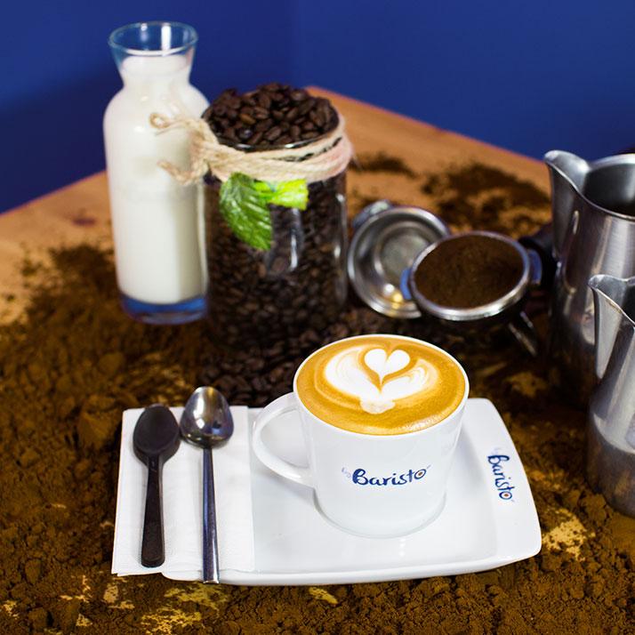 Cappucino ''Espresso, süt, süt köpüğü.''